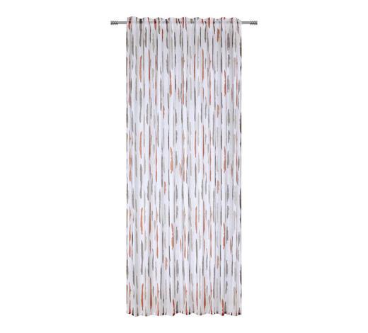 FERTIGVORHANG  halbtransparent  140/245 cm - Terra cotta/Braun, Basics, Textil (140/245cm) - Esposa