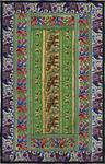 WANDBEHANG - Multicolor, LIFESTYLE, Textil (60/90cm) - Esposa