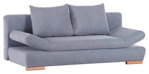SCHLAFSOFA Flachgewebe Hellblau - Naturfarben/Hellblau, KONVENTIONELL, Holz/Textil (200/75/41/92cm) - Xora