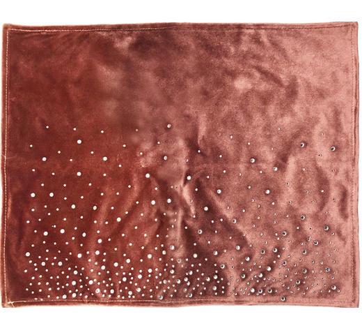 PODMETAČI ZA STOL - siva/jorgovan, Lifestyle, tekstil (33/44cm) - Ambia Home