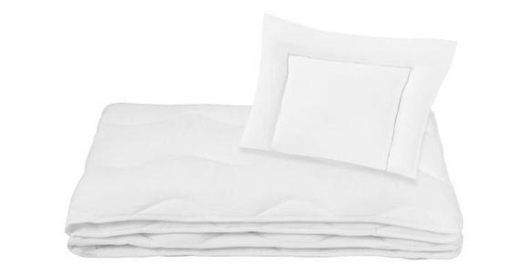 Kinder-Bettenset Laura - Weiß, KONVENTIONELL, Textil - Primatex