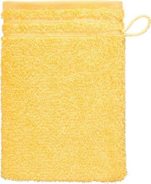 WASCHHANDSCHUH  Gelb - Gelb, Basics, Textil (22/16cm) - Vossen