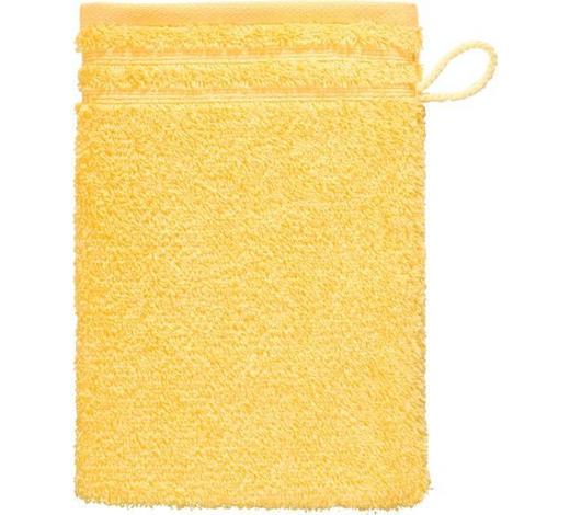 WASCHHANDSCHUH - Gelb, Basics, Textil (22/16cm) - Vossen