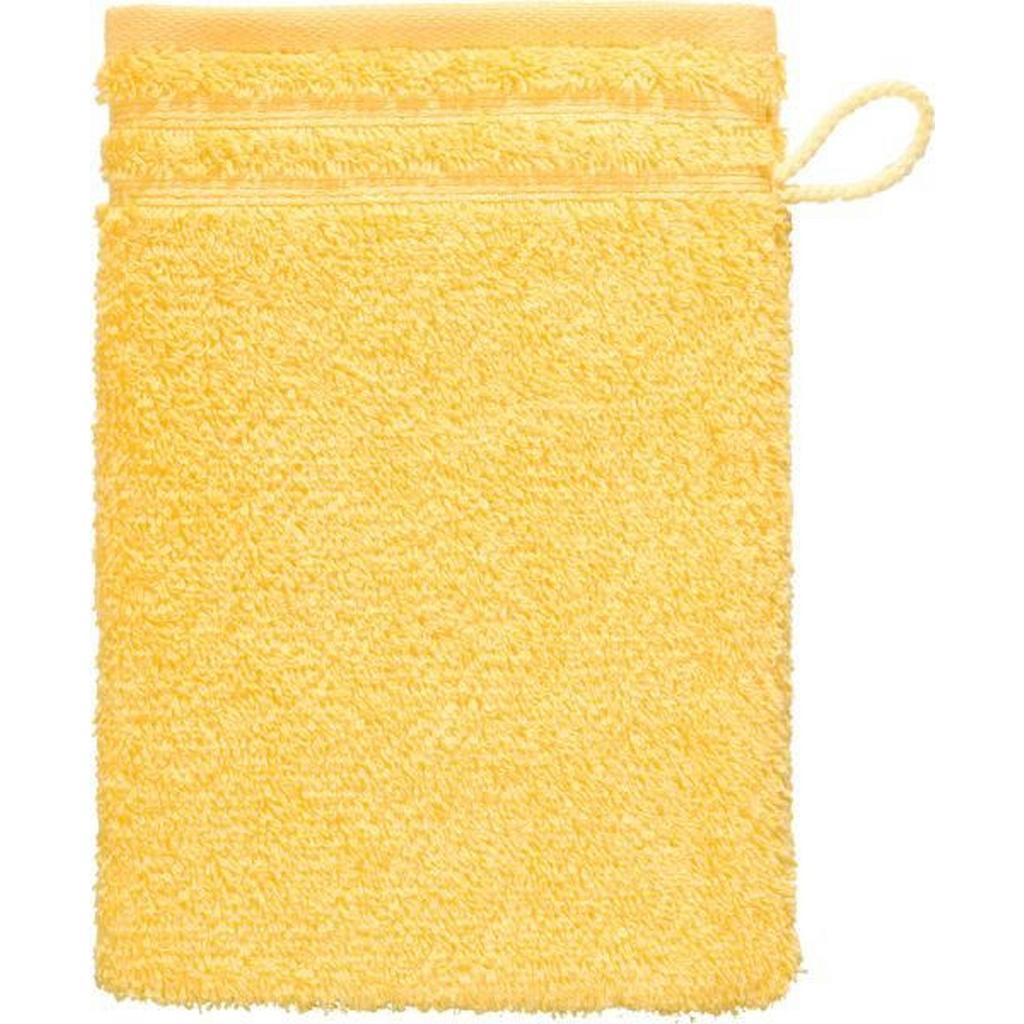Vossen Waschhandschuh 22/16 cm gelb