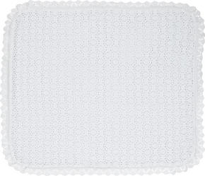 Taufdecke - vit, Basics, textil (70/80cm) - My Baby Lou