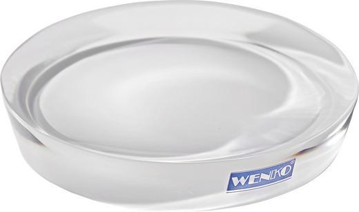 SEIFENSCHALE - Weiß, Kunststoff (12.5/12.5/2.2cm)