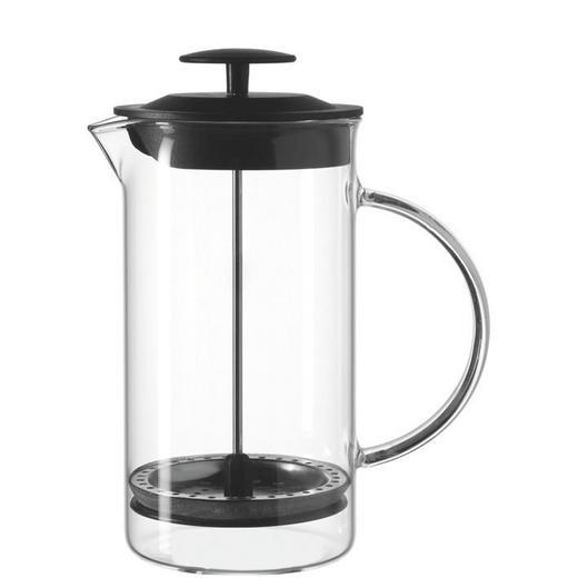 KAFFEEBEREITER 1,0 L - Klar, Glas (14,5/22/12cm)