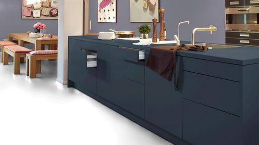 Laminat Glamour Weiß  per  m² - Weiß, Design, Holzwerkstoff (64,4/31/0,8cm) - Venda