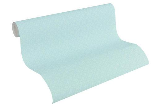 VLIESTAPETE 10,05 m - Türkis/Blau, Design, Textil (53/1005cm)