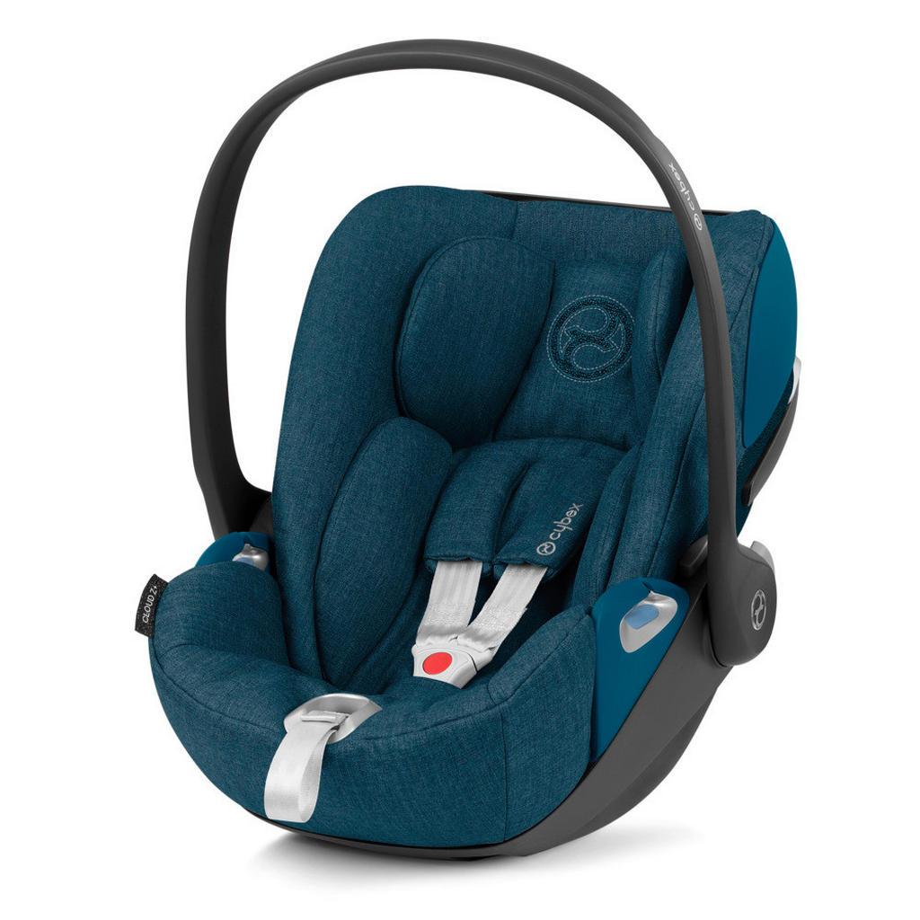 Image of Cybex Babyschale , Cloud Z I-Size Plus , Türkis , Textil , 44.0x38-60x67.0 cm , matt , abnehmbarer und waschbarer Bezug, Gurtlängenverstellung, höhenverstellbare Kopfstütze, Sonnendach, integriertes Gurtsystem, optimaler Aufprallschutz, schadstoffgeprüft,
