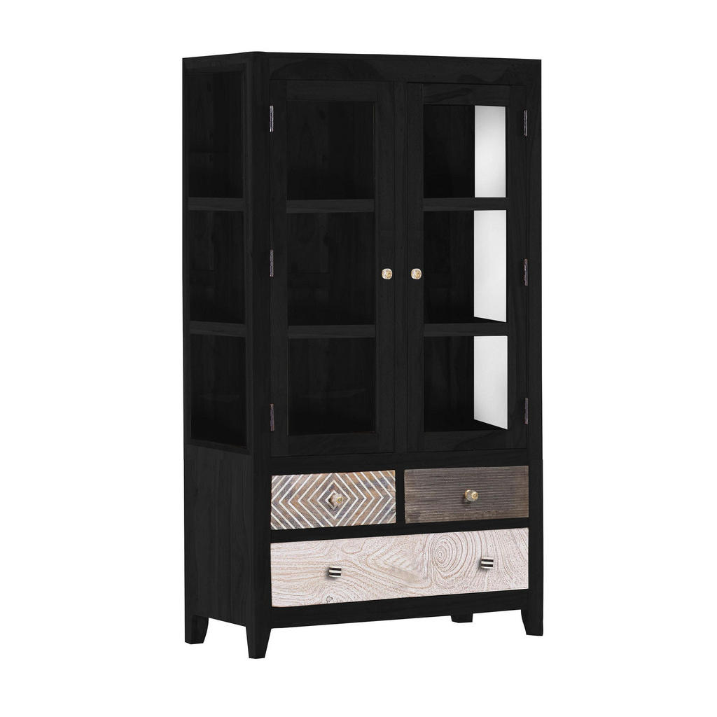 Pinie Massivholz Standvitrinen Online Kaufen Möbel Suchmaschine
