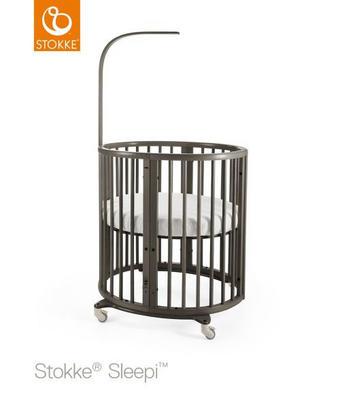 STOKKE SLEEPI MINI HAZY GREY - grå, Basics, trä (67/87/82cm) - Stokke