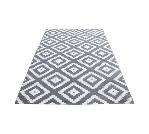 HOCHFLORTEPPICH - Grau, KONVENTIONELL, Textil (200/290cm) - Novel