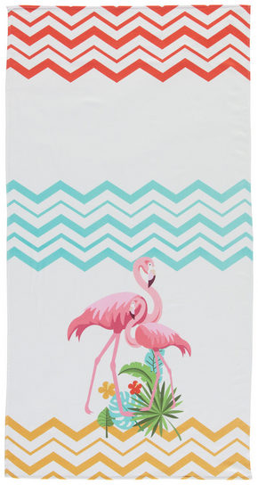 STRANDHANDDUK - multicolor, Basics, textil (90/180cm) - Esposa