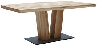 ESSTISCH in massiv Balkeneiche Eichefarben - Eichefarben, KONVENTIONELL, Holz/Holzwerkstoff (180/90/75cm) - Valnatura