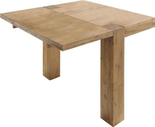 ANSTECKPLATTENSET Akazie massiv Akaziefarben - Akaziefarben, Design, Holz (50/4/100cm) - Carryhome