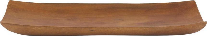 SNACKSCHALE - Akaziefarben, Basics, Holz (40,5/20/2,5cm) - Homeware