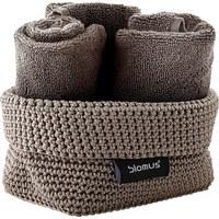 AUFBEWAHRUNGSKÖRBCHEN - Taupe, Basics, Textil (10/9/15cm) - Blomus