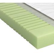 KALTSCHAUMMATRATZE Sky 200 roll-pack 140/200 cm  - Weiß, Basics, Textil (140/200cm) - Schlaraffia