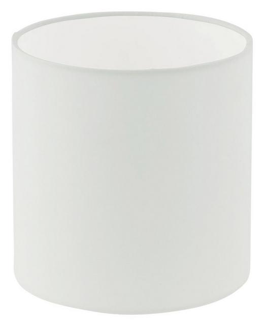LEUCHTENSCHIRM  Weiß  Textil  E27 - Weiß, Design, Textil (18/18cm) - MARAMA