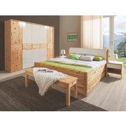 SCHLAFZIMMER in - Natur, Holz (180/200cm) - Linea Natura