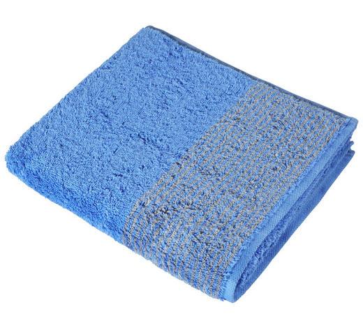 HANDTUCH 50/100 cm - Blau, KONVENTIONELL, Textil (50/100cm) - Cawoe