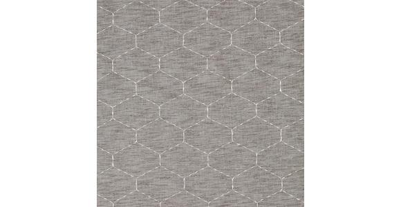 FERTIGVORHANG halbtransparent  - Braun, Natur, Textil (140/245cm) - Esposa