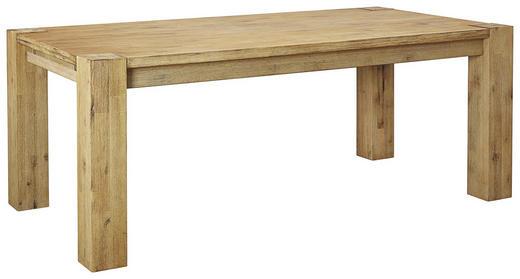 ESSTISCH Akazie massiv rechteckig Akaziefarben - Akaziefarben, Design, Holz (200/100/77cm) - Carryhome