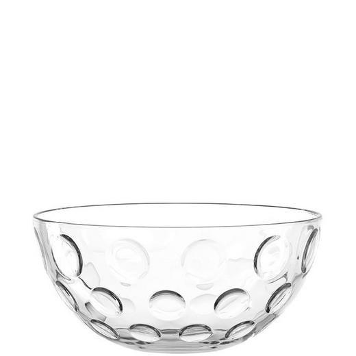 SCHALE Glas - Transparent, Trend, Glas (26,20/12,30cm) - Leonardo