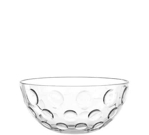 SCHALE 26 cm - Transparent, Trend, Glas (26cm) - Leonardo