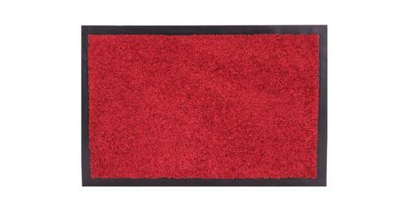 FUßMATTE 60/90 cm  - Rot, KONVENTIONELL, Textil (60/90cm) - Esposa