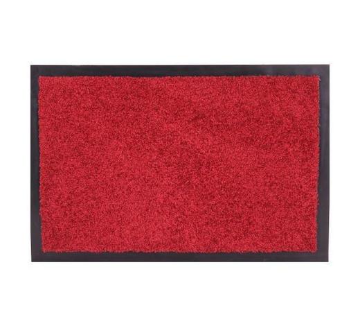 Schmutzfangmatte 60/90 cm  - Rot, KONVENTIONELL, Textil (60/90cm) - Esposa