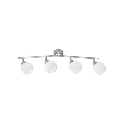 STRAHLER - Weiß/Nickelfarben, Design, Glas/Metall (80/77/19,5cm) - Boxxx