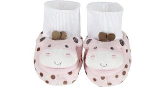 Schuhe - Rosa/Weiß, Basics, Textil (10cm) - My Baby Lou