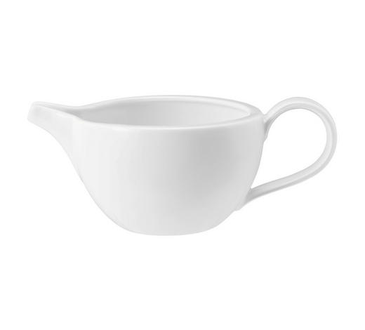 SAUCIERE 550 ml - Weiß, Basics, Keramik (20,4/12,8/8,6cm) - Seltmann Weiden