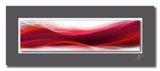 Abstraktes BILD - Design, Kunststoff/Metall (50/125cm) - Wiedemann