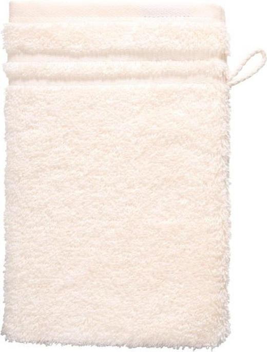 WASCHHANDSCHUH  Creme - Creme, Basics, Textil (22/16cm) - VOSSEN