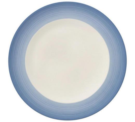 SPEISETELLER - Blau/Creme, KONVENTIONELL, Keramik (27cm) - Villeroy & Boch