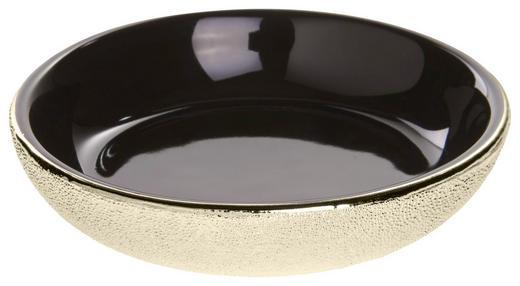 SEIFENSCHALE Keramik - Goldfarben, Basics, Keramik (10,8/2,3/10,8cm) - Celina
