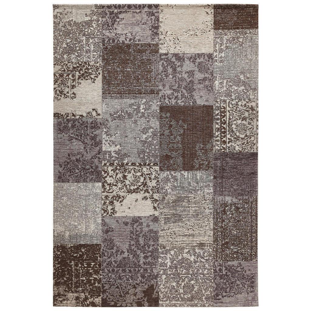 Novel Vintage-teppich 140/190 cm grau