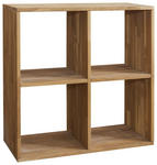 REGAL in 75,4/75,4/35 cm Buchefarben  - Buchefarben, Natur, Holz (75,4/75,4/35cm) - Carryhome