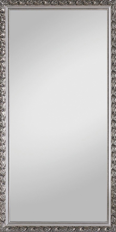 WANDSPIEGEL Silberfarben - Silberfarben, Basics, Glas/Holz (100/200cm) - CARRYHOME