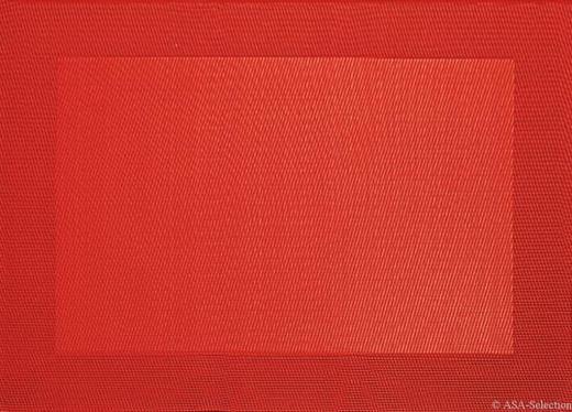 TISCHSET - Rot, Basics, Kunststoff (33/46cm) - ASA