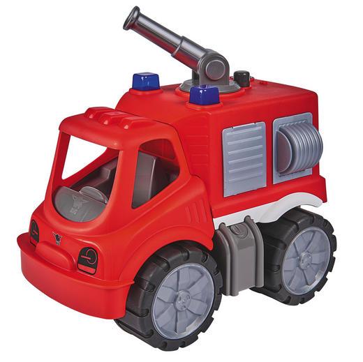 FEUERWEHRAUTO Big Power Worker - Rot/Multicolor, Basics, Kunststoff (20,5/39,5/28,5cm) - BIG