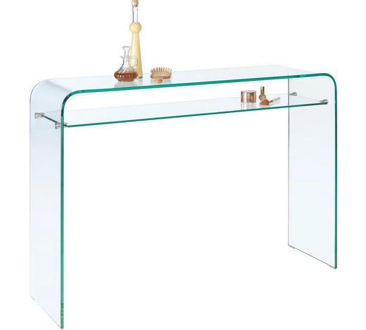 KONSOLE in Glas   120/85/35 cm  - Transparent, Design, Glas (120/85/35cm)
