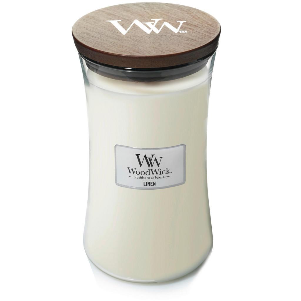 Yankee Candle Duftkerze woodwick linen