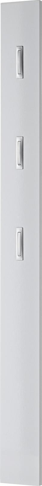 GARDEROBENPANEEL Weiß - Weiß, Design (15/170/4cm) - VOLEO