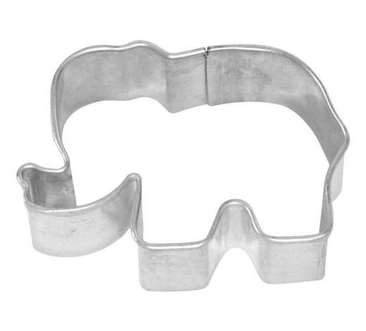 KEKSAUSSTECHFORM - Edelstahlfarben, Basics, Metall (5/2,2/3,5cm) - Birkmann
