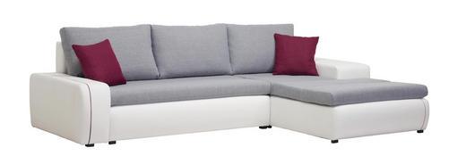 Wohnlandschaft In Textil Grau Lila Weiss Online Kaufen Xxxlutz