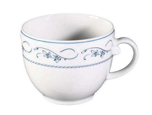 ŠÁLEK NA KÁVU - bílá/modrá, Lifestyle, keramika (27,8/18,9/8,2cm) - Seltmann Weiden